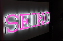 SEIKO mini word LED back light word luminous word luminous word LED luminous word mini luminous word