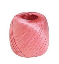 Bundled plastic rope tear band line ball bundled packing rope nylon rope new material flat wire rope red rope tie rope