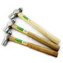 SD Shengda tools 1P-2 5P green Kong wooden handle round head hammer forging milk hammer home hardware hammer