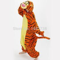 Lovely Tiger Onesie Costume Cosplay Winter Pyjamas Tigger Pa