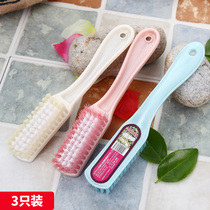 Shoe brush cleaning brush shoe brush shoe brush shoe laundry brush plastic thick handle small brush hard Hair Brush