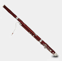Factory direct hengyun C-plated silver button bassoon bassoon BS9960 musical instrument Maple Western tube music