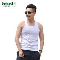 07 white vest male summer white sleeveless Army fan quick-drying vest physical vest hurdle vest breathable T-shirt