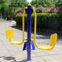 Community Square Park Outdoor Fitness Exercise path double pedal training equipment fitness equipment