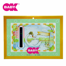 Italie OKBABY indoor temperature display card (display temperature range 12-32 brand)room temperature card