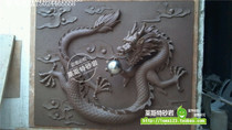 Hangzhou Leist sandstone relief murals background wall hotel bar decoration materials-dragon-shaped wall decoration
