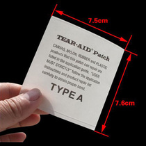 US imports of TEAR-AID multi-purpose stickers love to repair down jacket backpack tent pants patch stickers