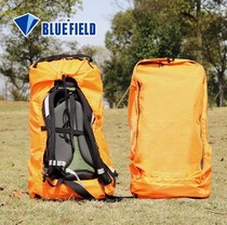 Blue field checked backpack cover bag rain cover mountaineering bag cover travel bag cover backpack waterproof cover light