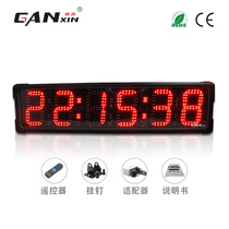 Gan Xin led timer Outdoor Racing sports Training Marathon timer electronic stopwatch factory Direct sales