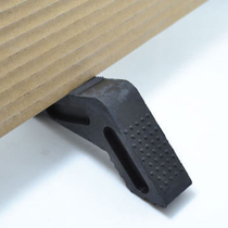 Japan KM heightening rubber door wedge damper doorstop door stopper doorstop doorstop free installation doorstop