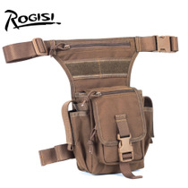 ROGISI Lujas Army Fan Field Tactical Leg Pack Outdoor Camping Adventure Equipment Single Soldier Waist Leg Pack 10R31.