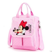 Children primary school bag handbag boys and Girls 1-3-5-6th grade tutorial shoulder diagonal shoulder three-use bag