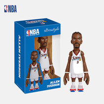 NBA-Mindstyle 76 people team Iverson mini star Q version doll doll