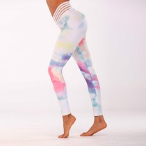 The new printing yoga pants leggings for fitness ass show