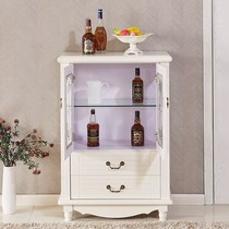 Good selection of European side cabinets simple modern kitchen side cabinets paint small wine cabinet living room tea water Cabinet glass storage Cabinets