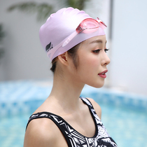 Jiejia swimming cap silicone men and women waterproof Fashion children adult long hair comfortable professional swimming hat