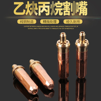 Industrial torch cutting nozzle oxygen acetylene propane gas cutting grab gas cutting tool shooting suction torch cutting nozzle