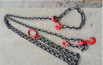 Two-leg chain Sling reinforced steel special lifting chain spreader round steel lifting sling 5 tons 4 meters