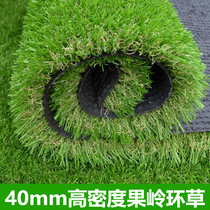 Special artificial lawn mini golf artificial turf 4cm high density fiber grass golf green ring grass