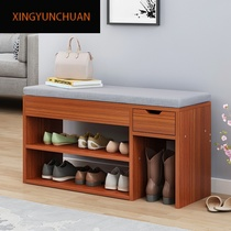 Change the shoe stool home door shoe cabinet simple modern shoe stool door storage for shoe cabinet economy bench can sit