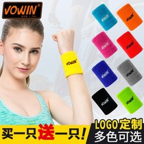 Jacket Wan badminton protection sports wrist female summer sweat running students sprained towel wrist hand