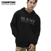 726 New Fall Military Wind Comfortable Loose Long Sleeve Hooded U.S. Army Cotton Sweater.