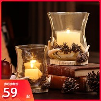 That Lan more good European creative practical candlestick wedding decoration gifts ornaments holiday party celebration household items