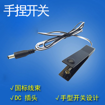 Promotional with wire hand pinch switch machine head cylinder booster hand press switch line DC switch converter with switch switch switch