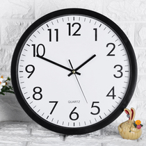 Clock living room personality creative fashion home wall clock European modern minimalist bedroom mute electronic quartz clock