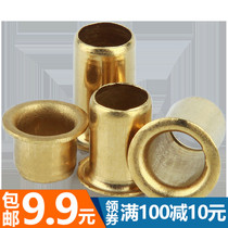 Lengthened copper grommet Rivet hollow copper rivet through hole Rivet single tube M2 0 M2 5 M3 M4 M5