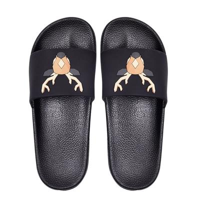 Slippers home bathroom summer deodorant foot odor-free foot odor-free antibacterial female non-slip soft bottom men's Environmental Protection