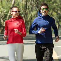 Pathfinder jacket quick-dry elastic mens and womens spring and summer outdoor light running jacket KAEG81489 82488
