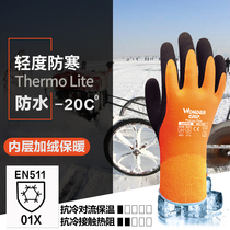 Multi-force cold-proof antifreeze waterproof low temperature resistant gloves refrigerated freezer cold storage laboratory labor protection gloves