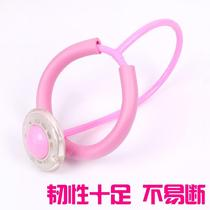 With protective foot cover lengthened jump jump ball childrens toys jump rope Yo-Yo spin luminous pull Line Pop fitness