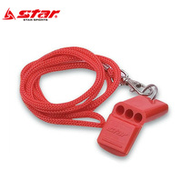 starstar whistle referee lifesaving soccer basketball volleyball with rope training game whistle XH231