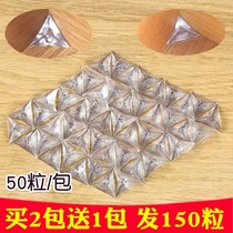 Kitchen economy Cabinet dustproof Crystal Corner anti-dirty corner transparent wardrobe block triangle stickers corner home