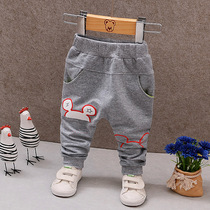 Baby pants Spring and autumn 1-3 year old boys and girls new 2018 childrens trousers baby casual pants thin outside wear
