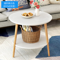 Triangular coffee table table table desk corridor small table modern simple convenient bedside table side a few items high school students