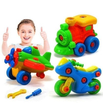 Carpool ingave set childrens carpooling toys install assembly car 3-year-old hands-on boy boy year-old tool exercise