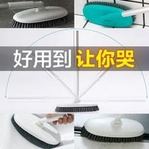 Floor brush long handle bristle brush tile cleaning brush kitchen floor brush toilet toilet brush brush bathroom brush
