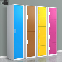 Brocade cattle wardrobe color dressing cabinet iron cabinet quilted lockers with lock storage cabinet wardrobe hanging clothes storage cabinet