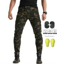 Classic version of motorcycle jeans motorcycle motorcycle straight slim riding pants camouflage racing pants thicker