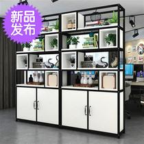Iron industry screen office partition cabinet partition cabinet locker locker shelf display cabinet entrance j