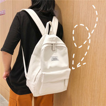 bf wind vintage sense girl bag ins Korean high school students simple Sen Department wild multi-purpose backpack