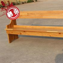 Five pie two fish new church bench meeting chair solid wood 6 chair church back chair wooden chair public chair custom.