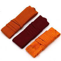 Buddhist Tibetan monk lama Gus cotton woven belt a hundred monks dress monks clothing monk clothing.