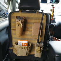 Military fans tactical car seat back storage bag hanging bag multi-function molle plus hanging tactical packet storage storage