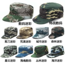Camouflage hats men and women military training camouflage cap Army fan cap adjustable digital jungle Ocean City flat cap