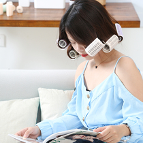 Curly hair tube air bangs hair curly large plastic roll self-adhesive sleep net red buckle lazy artifact Hair Shaper