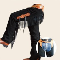 Western Big Chaps all-skin cowboy style horse riding big-match cowboy round-the-barrel race eight-foot dragon BCL2223101